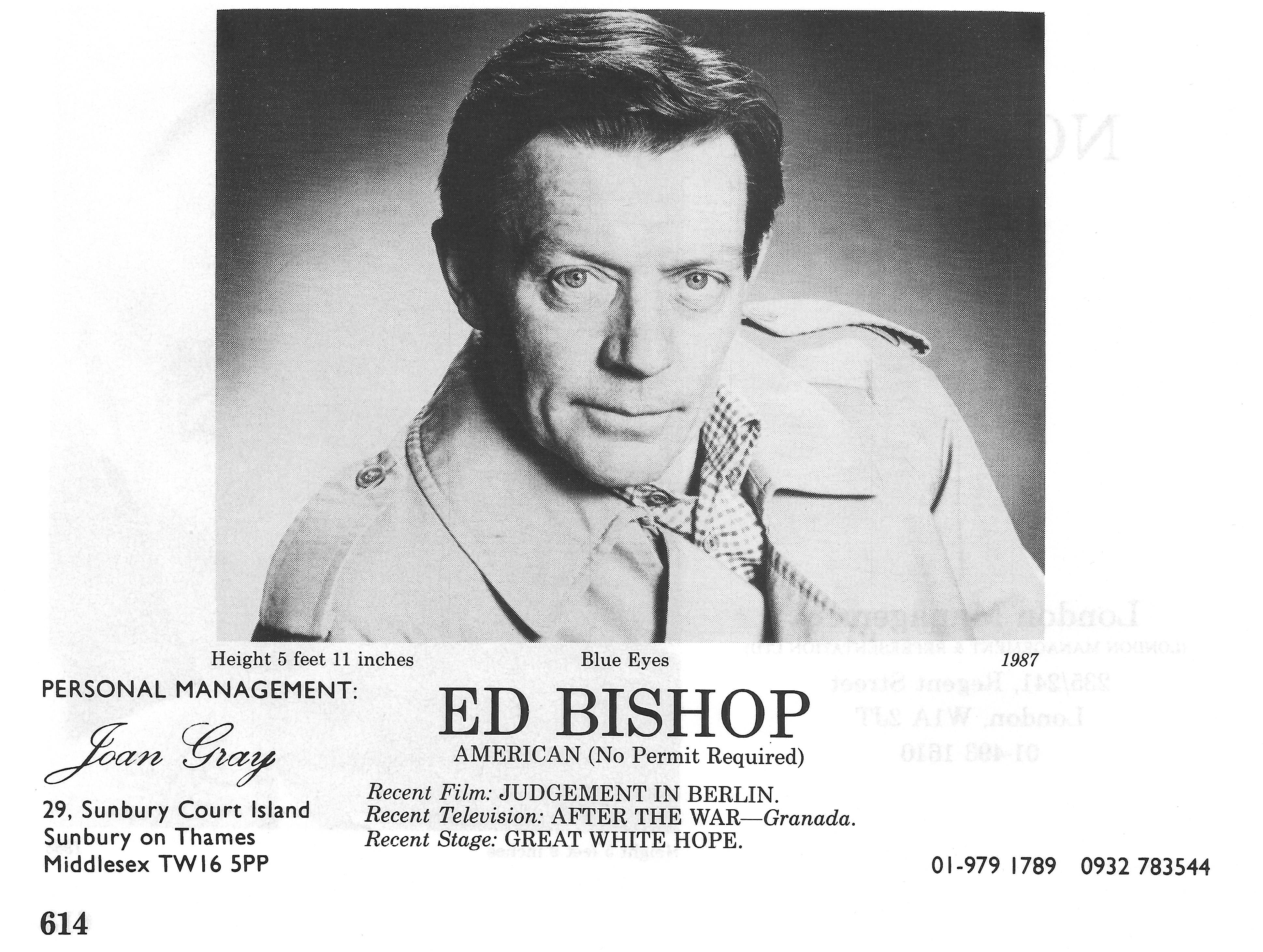 ed bishop marlowe
